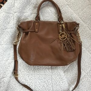 MICHEAL Micheal Kors Brown Soft Leather Purse